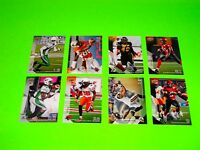 8 ASSORTED ROUGHRIDERS TIGER CATS LIONS STAMPEDERS UPPER DECK CFL FOOTBALL CARDS