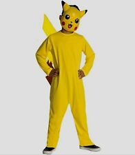 Pokemon PIKACHU Costume size 10 12 Large childs Halloween kids New Nintendo