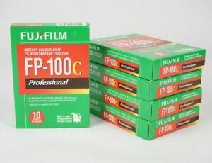 5 Packs Fuji Film FP-100C (Exp 05/2018) Professional Instant Color Film cold