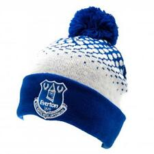 Everton Cuff Bobble Knitted Hat Sign Gift New Official Licensed Football Product