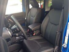 2013 2014 2015 2016 2017 Jeep Wrangler 4 Door New Katzkin Black Leather seat