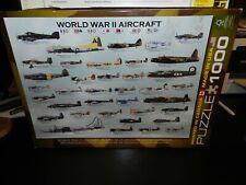World War II Aircraft Puzzle 1000 Piece
