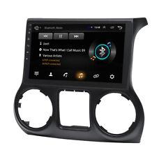 10.2'' HD Android 9.1 Car Stereo Radio GPS Navigation For Jeep Wrangler 2011-14