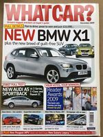 What Car Magazine - December 2009 - BMW X1, Audi A5 v Rivals, Fiesta v 207 v Pol