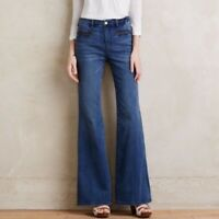 Anthropologie Pilcrow and the Letter Press Stet Flare Jeans Size 27