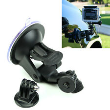 Suction Cup Mount With Tripod Adapter Camera Accessories For Gopro Hero 4/3/2/HD