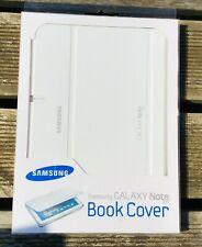 """Samsung Galaxy 10.1"""" comprimido Libro Cubierta De Protección Note Blanco NUEVO"""
