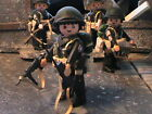 PLAYMOBIL CUSTOM US.PFC.2ND RAIDER BATTALION (MAKIN ISLAND-1942) REF-0187 BIS