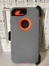 Defender Shockproof Case Cover For Apple iPhone SE 5S 6S 7 8 X Plus w/Belt Clip