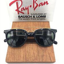 Vintage Ray Ban  B&L BLACK EBONY W0936 GATSBY Style 5 USA NEW NOS