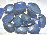 LAPIS Nugget 47-28mm long (1 Loose Faceted Tumble Nugget) Select-A-Size