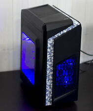 NUOVO Gaming Computer PC prestazioni veloci INTEL QUAD CORE 8GB NVIDIA GTX 1050ti