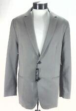 ALFANI Sport Coat Jacket Blazer Dark Sand 2 Button Stretch Mens XL $139.50 New