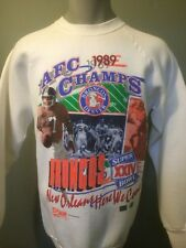 Vtg Denver Broncos Sweatshirt Elway 80s Crush Super Bowl Retro Throwback Mens Lg
