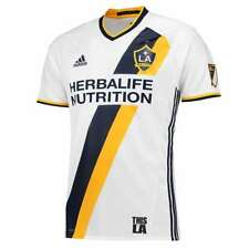 adidas La Galaxy Home Authentic Jersey Men's White / Collegiate Navy L