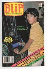 BLIP  1  1983  VIDEO GAMES MAGAZINE  MARVEL COMICS