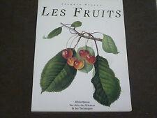 JACQUES BROSSE LES FRUITS BIBLIOTHEQUE DES ARTS DES SCIENCES ET DES TECHNIQUES