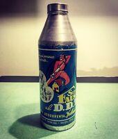 DDT Super Iride Faust Insetticida Barattolo Latta No Insegna Prato Vintage