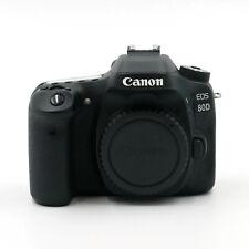 Canon EOS 80D 24.2 MP DSLR-Kamera - Schwarz - gebraucht