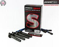 PowerTEC Sport 8mm Ignition Leads Cables HT Set Subaru Impreza 1.8 2.0 4WD GC GF