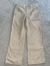 Polo Ralph Lauren Boys Suffield Flat-Front Khaki Pants Size 5