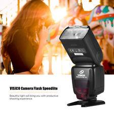 VISICO Camera Flash Built-in 2.4G Wireless Trigger System for Nikon Cameras M2M4