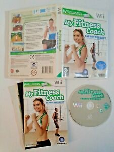 My Fitness Coach: Cardio Workout - Nintendo Wii Complete with Manual