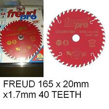 Freud Pro LCL6M01064 TCT Trim Saw Blade 165mm x 20 x 40 Tooth LCL6M 01064