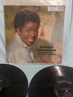 SARAH VAUGHAN GREAT SONGS from HIT SHOWS - 2x VINTAGE VINYL LP