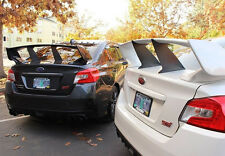 Perrin Stiffi Wing Spoiler Support Stabilizer 2015+ Subaru STi Sedan 2 Pieces