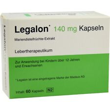 Legalon 140MG Capsule Liver Support Protection health, Clean Detox Supplement