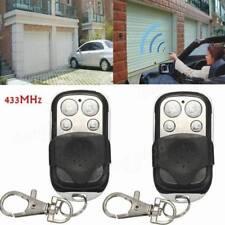 Universal 433MHz Wireless Electric Gate Garage Door Fob Remote Control Cloning