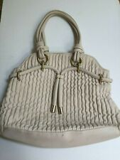Bally Zante Quilted Leather Large Shoulder Tote Handbag Bag Purse Soft