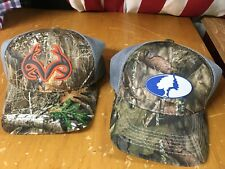 new MOSSY OAK or REALTREE Edge Hat Cap adjustable One Size Camo Hunting Fishing