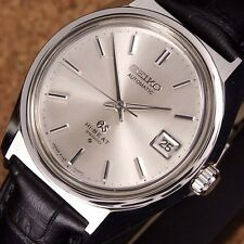 Authentic Grand Seiko Hi-Beat 36000 Date Ref.6145-8000 Automatic Mens Watch