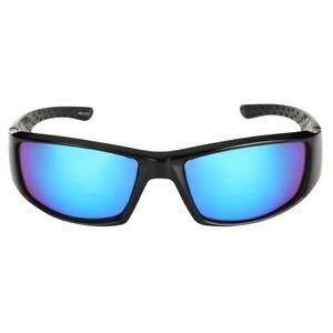 """""""The Contender"""" Polarized Full Frame Sport Wrap Bifocal Sunglasses"""