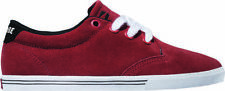 NIB Globe Skate Shoes Men's Size 7 Lighthouse -Slim Red Low Top Suede NEW in Box