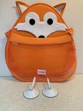 Kids Bathtub Organizer Animal Fox Boys Girls For Toys