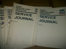 Ford, New Holland and Versatile Service Journals  1990's (Lot of 24)