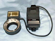 LESTER DINE NISSIN TTL MACRO RING POINT FLASH WITH NIKON MODULE