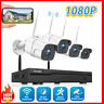 TOGUARD 8CH 1080P NVR Außen Überwachungskamera System mit 4 Sicherheit Kameras