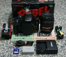 Canon EOS Rebel XSi 12.2MP DSLR Camera IN BOX W/ 18-55mm Lens 19K Clicks Tested