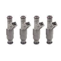 Set(4) 24lb New Fuel Injectors For BMW Ford M10 Turbo DOHC 420a 250cc/min TT