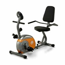 Marcy Recumbent Exercise Bike Indoor Cardio Workout Fitness