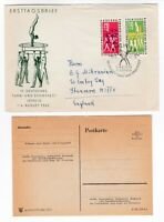 DDR East Germany FDC 1963 Sports Tournament Leipzig Gymnastics first day cover