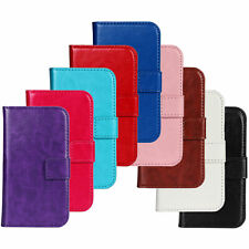 Crazy Horse Pattern PU Leather Case Cover Protector For Samsung S7562/2019