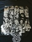 WWE Legends T-Shirt M Medium Hulk Hogan Ultimate Warrior Jake Roberts Ric Flair