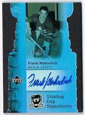 2006-07 The Cup Stanley Cup Signatures Autograph Auto #CS-FM Frank Mahovlich /25
