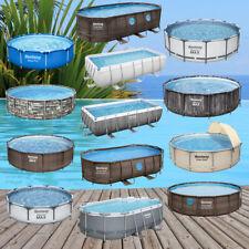 Bestway Swimming Frame Pool Schwimmbad Poolfolie Schwimmbecken Gartenpool