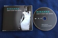 RIHANNA CD SINGLE DONT STOP THE MUSIC